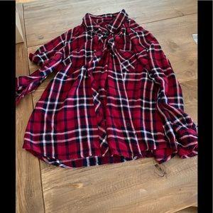 Rails Flannel Top/ Blouse